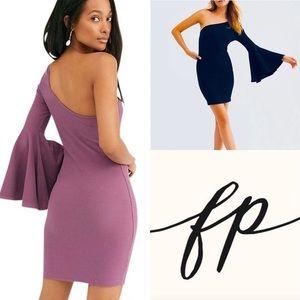 Free People Livia Knit Mini Dress: Medium, NWT.